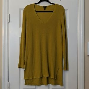 EILEEN FISHER Organic Cotton/Silk Sweater Tunic